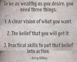 Wealth Jerry Gillies