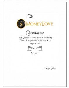 The MoneyLove Questionnaire 2015 Edition